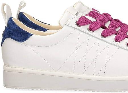 Panchic P01 Original - Zapatillas de mujer blancas y azules - P01W16001L1 A00568-WFUXIA - Talla