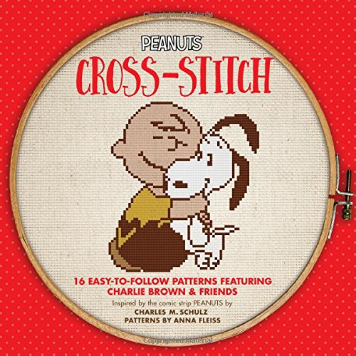 Peanuts Cross-Stitch: 16 Easy-to-Follow Patterns Featuring Charlie Brown & Friends (Hometown ()