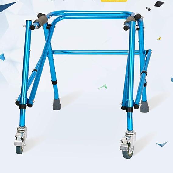 CLYZXQ Andador Anciano, Andador Plegable De Estructura De ...