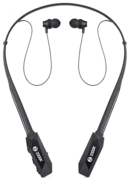 95e4731f68b Zoook Jazz Claws Bluetooth Neckband with mic with 20 Hrs. Backup - Heavy  Bass: Buy Zoook Jazz Claws Bluetooth Neckband with mic with 20 Hrs. Backup  - Heavy ...