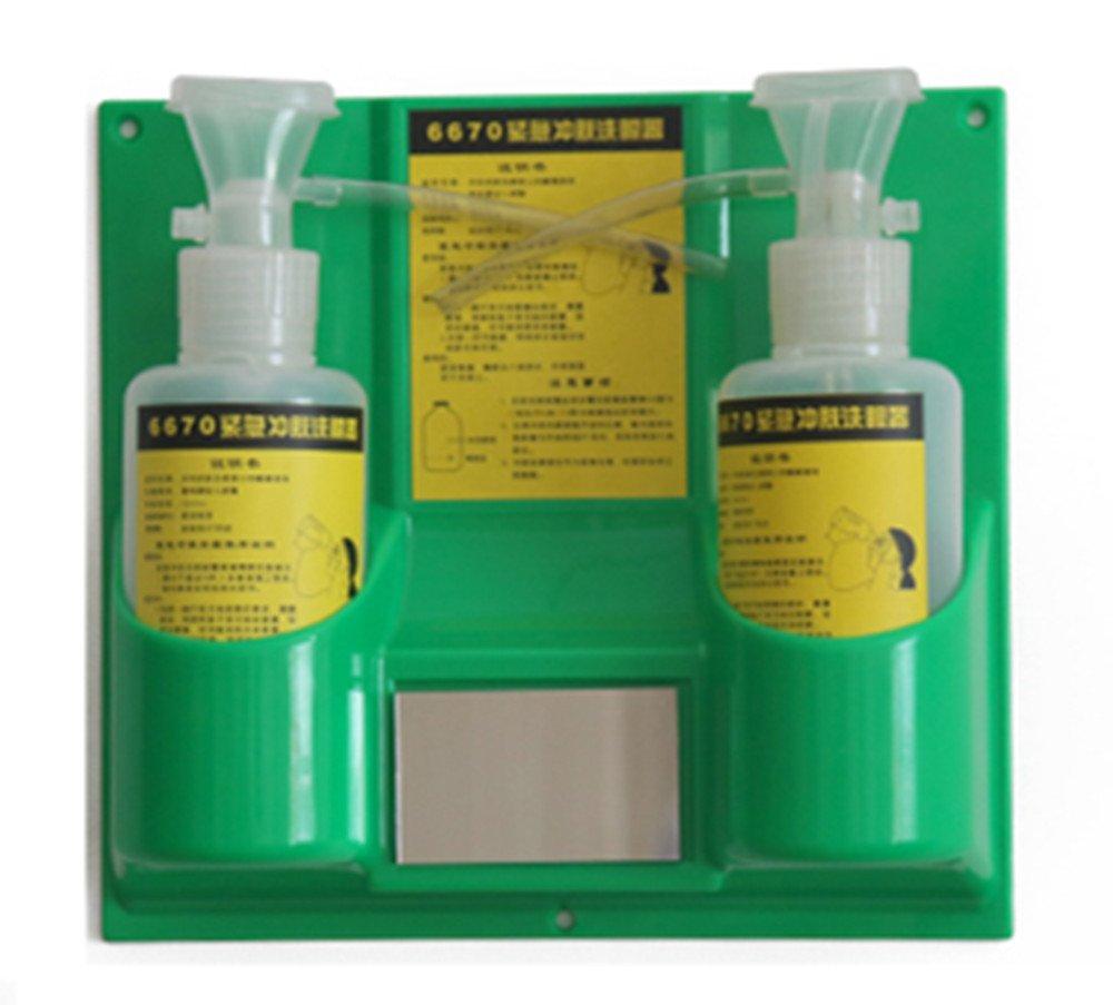 Honeywell HON32-000502-0000 Fend-All 1 gal Sperian Saline Solution for Porta Stream I Volume Plastic 1 x 1 x 1 ll and LLL Eye Wash Station 15.34 fl oz English