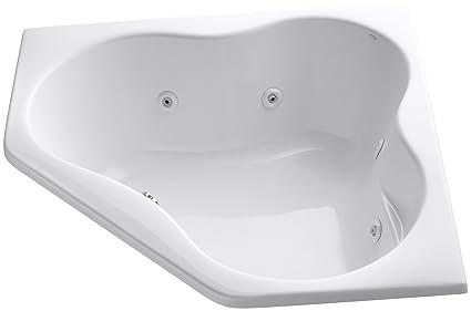 Perfect Kohler K 1154 0 5454 Corner Whirlpool, White