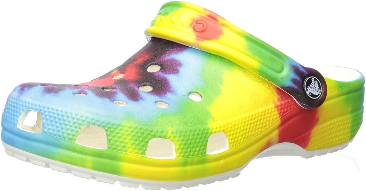 Crocs Classic Graphic Clog   Slip on
