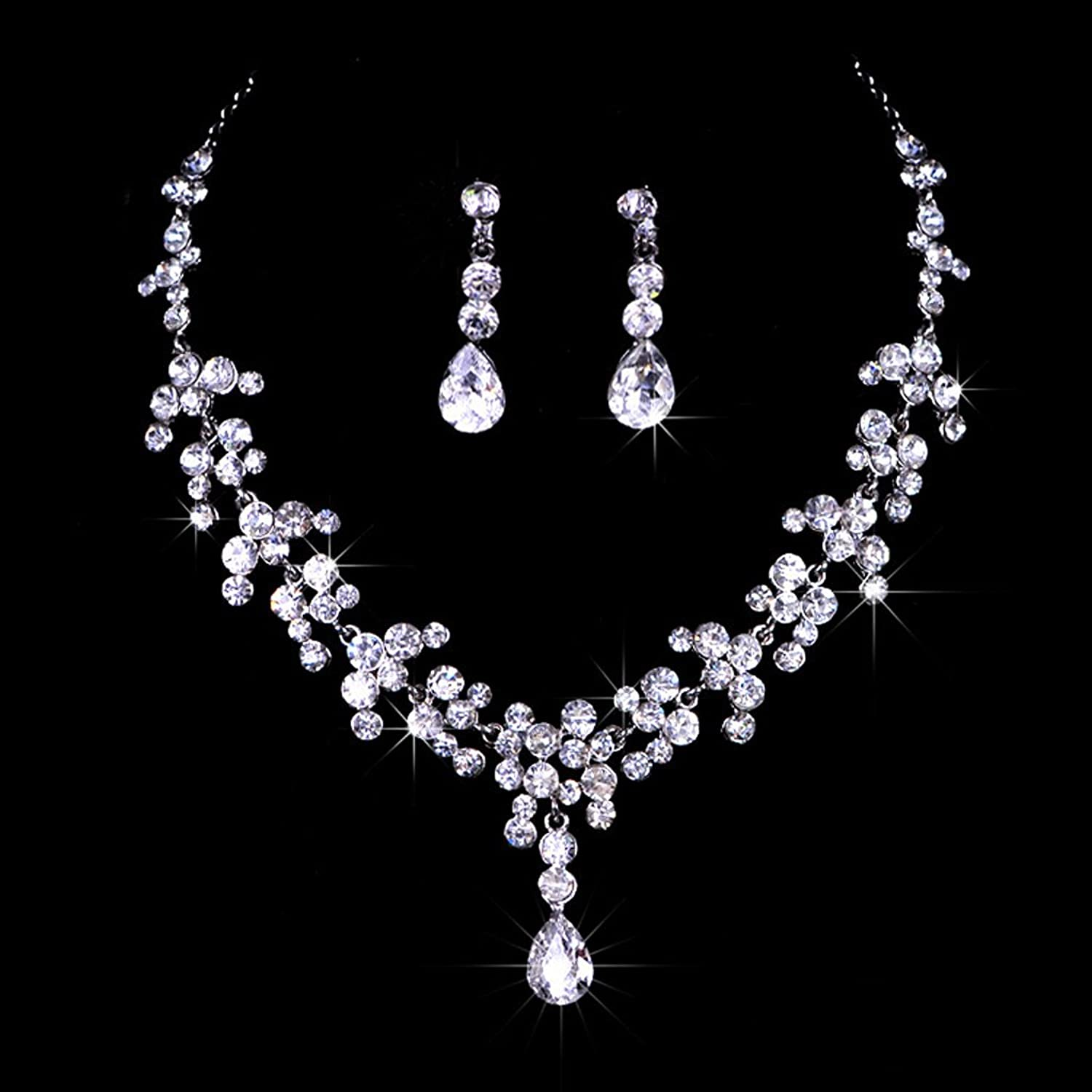 Bridal Jewelry Sets Vintage Bridal Jewelry Sets Crystal And Cream