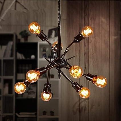 PLLP Iluminación Interior Lámparas de Araña Vintage ...
