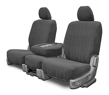 Superb Custom Fit Seat Covers For Chevy Gmc Low Back Seat Charcoal Dorchester Fabric Uwap Interior Chair Design Uwaporg