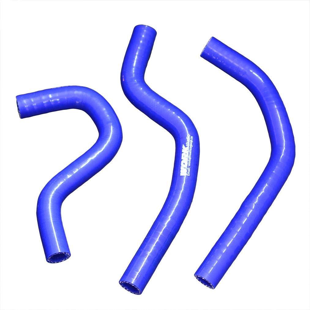 ALUMINUM HOSE FOR HONDA CR80R//B;CR80 97-2002//CR85R//B;CR85 2003-2008 04 hose blue