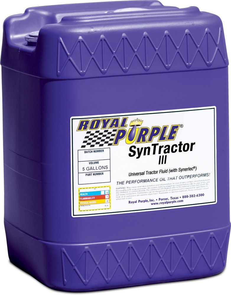 Royal Purple 10017 Syntractor III Universal Tractor Fluid - 5 gal.