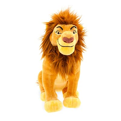 Disney Mufasa Plush – The Lion King – Medium – 14'': Toys & Games