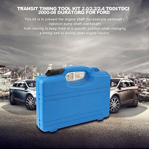 Momorain Transit Timing Tool Kit 2.0/2.2/2.4 TDdi/TDCi 2000-08 Duratorq para Ford (Color: Plateado y Negro): Amazon.es: Coche y moto