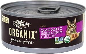 Castor & Pollux, Cat Food Organix Chicken N Liver Pate Organic, 5.5 Ounce