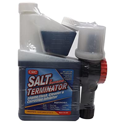 CRC SX-32M Salt Terminator Engine Flush Concentrate with Mixer - 32 oz.: Sports & Outdoors