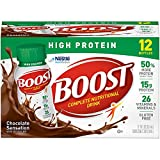 Boost High Protein Rich Chocolate Complete Nutritional Drinks, 8 fl oz, 60 count