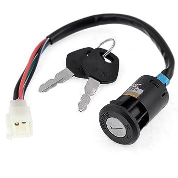Interruptor de llave o Go Kart moto patinete eléctrico motocicletas seguridad para CG125