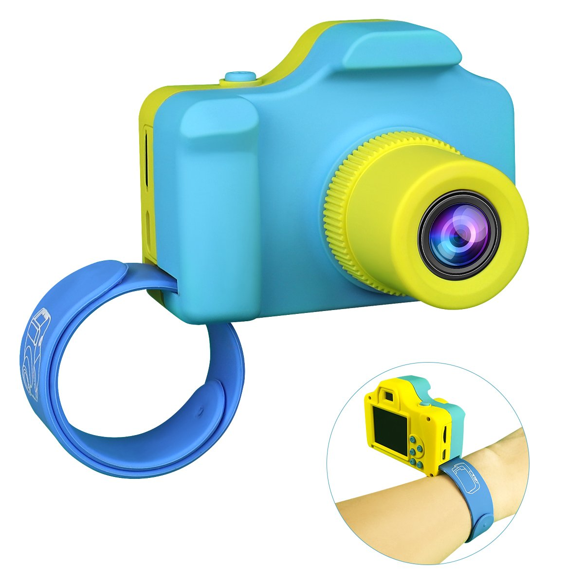 Kids Childrens Digital Video Camera, Point and Shoot Digital Camera for Kids Childrens