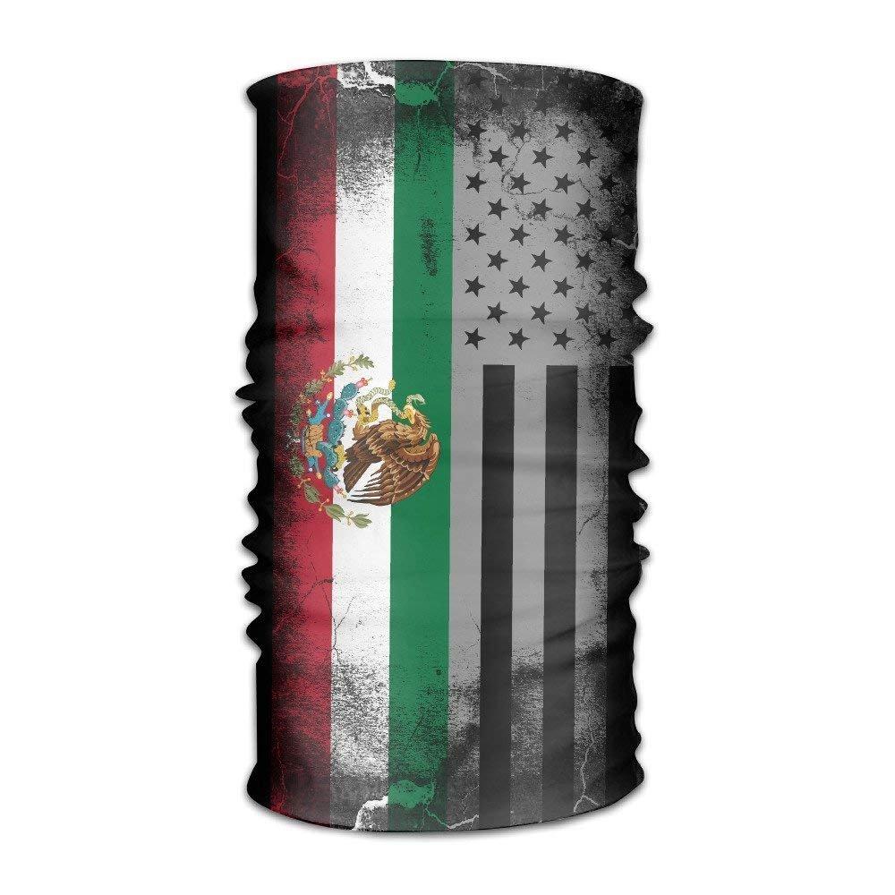 OKME Custom USA Mexico Crack Flag Multifunctional Magic Headwear ...