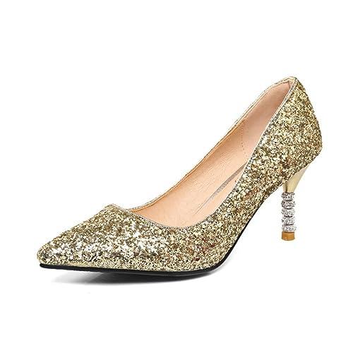 Zapatos Brillo De Fiestazapatos Damas Boda Novia xq4AUH