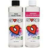 ArtResin - Epoxy Resin - Clear - Non-Toxic - 16 oz (8 oz Resin + 8 oz Hardener) (474 ml)