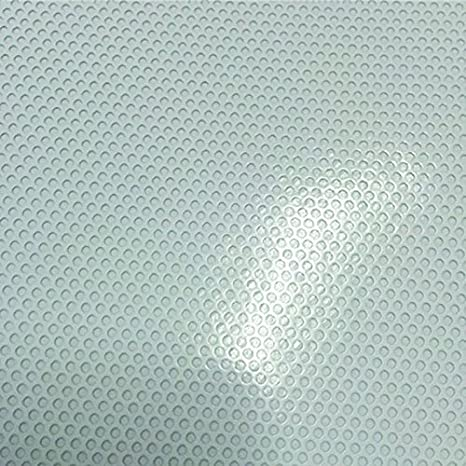1.37m*0.5m 4.5ft * 20 One Way Perforated Mesh Window Vinyl Privacy Wrap Film Sheet with a Black Adhesive Backing