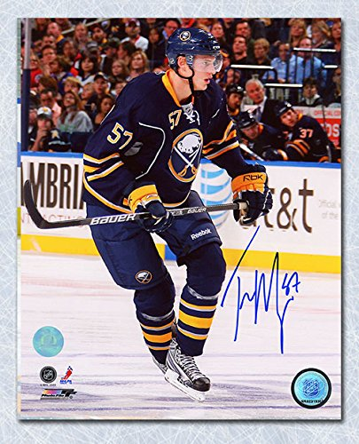 (AJ Sports World Tyler Myers Buffalo Sabres Autographed Game Action 8x10 Photo)