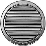 Circulaire en acier inoxydable Grille de ventilation couvrir Ø100mm