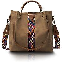 Suede Vegan Leather Purse, Fashionable Ladies Handbags, Versatile Multipurpose Hobo Bucket Bags for Women