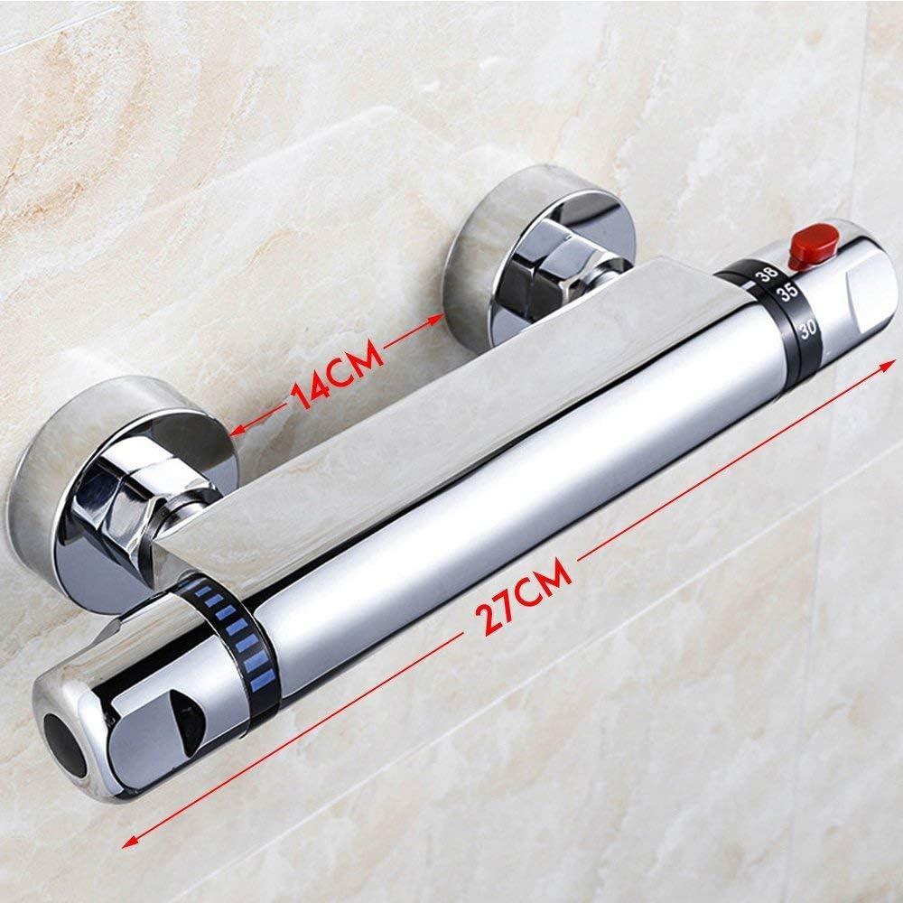 Grifo mezclador termost/ático para ducha cromo Casinlog