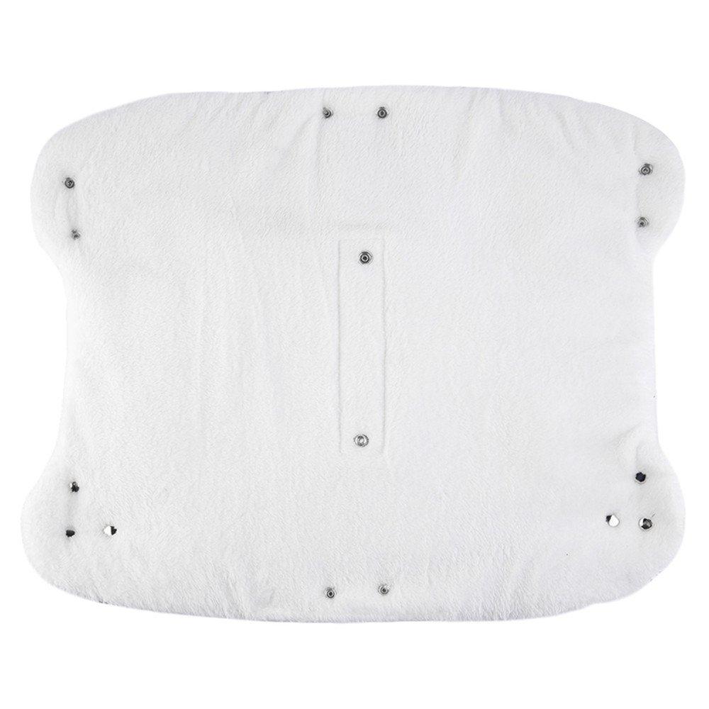 Calentador de manos para cochecito de bebé de forro polar cálido café Talla:largo: Amazon.es: Bebé