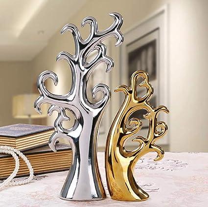 Pleasing Amazon Com Tdrforce Home Decor Love Tree Figurines Interior Design Ideas Truasarkarijobsexamcom