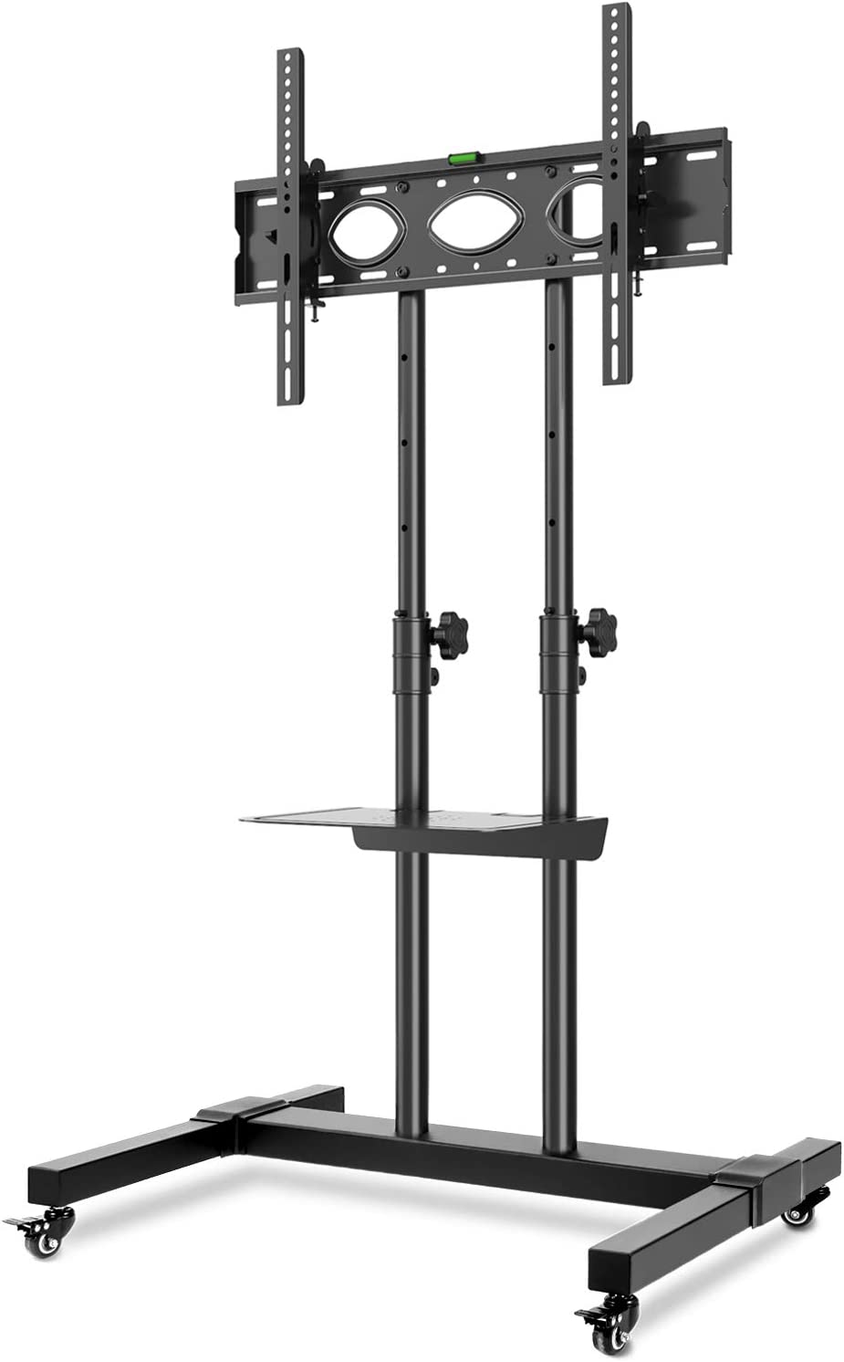 Rfiver Tall Mobile Tv Stand Rolling Movable For Most Amazon Co Uk Electronics