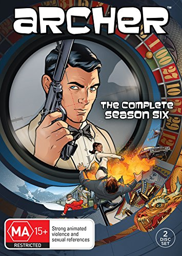 Archer Season 6 DVD (Archer Tv Series Dvd)