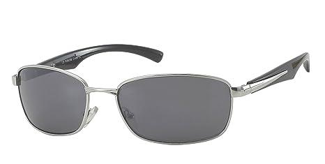 Verres Chic-Net concepteur lunettes de soleil de lunettes d'hommes 400UV teinté gris noir CM76fbXkM2