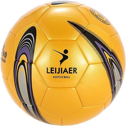 Lixada Tamaño 5 TPU Balón Fútbol Inflable Balón de Fútbol Suave ...