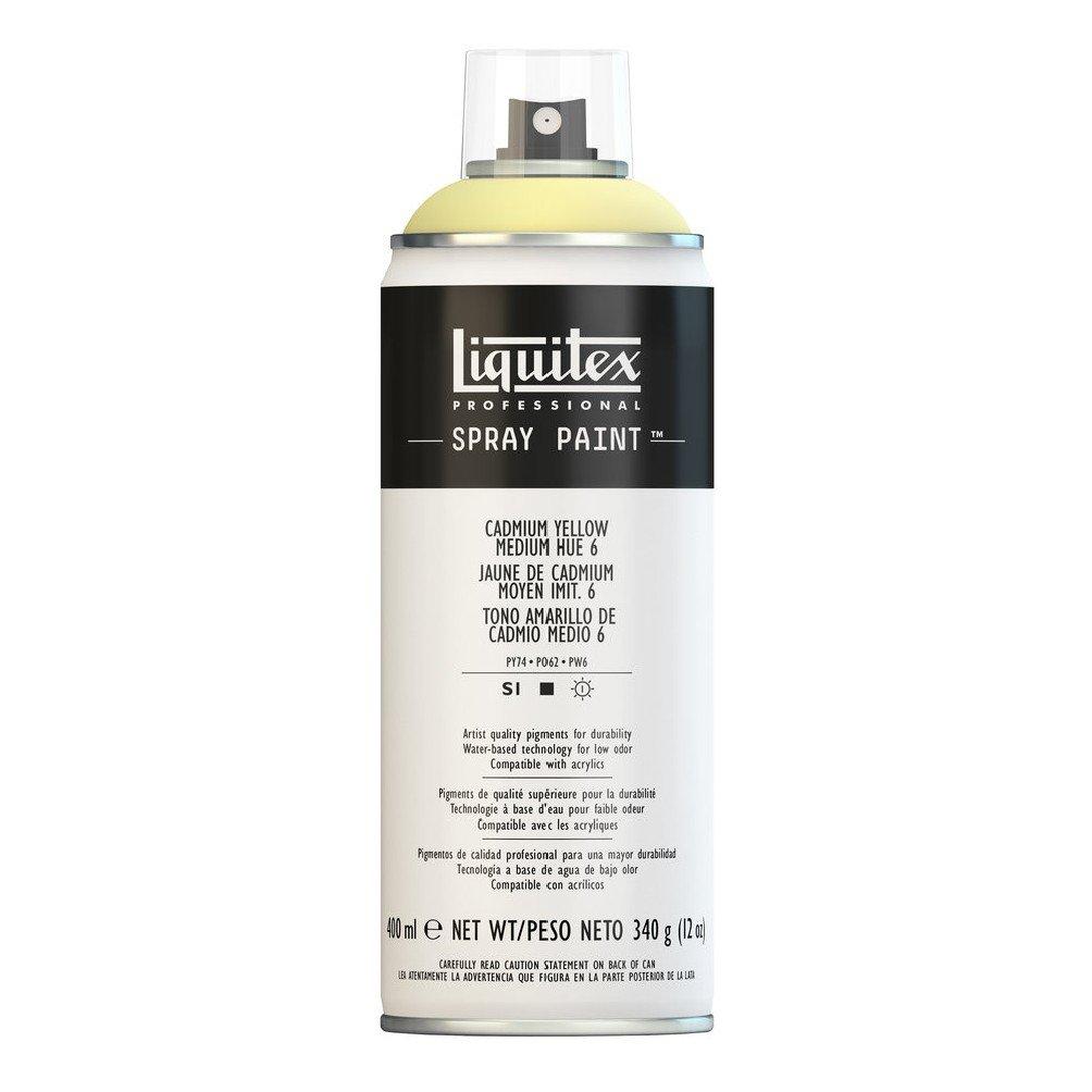 Liquitex プロフェッショナル スプレーペイント 12オンス 400ml Can イエロー 4456830 B008N7HKUA Cadmium Yellow/ Medium Hue 6 Cadmium Yellow/ Medium Hue 6
