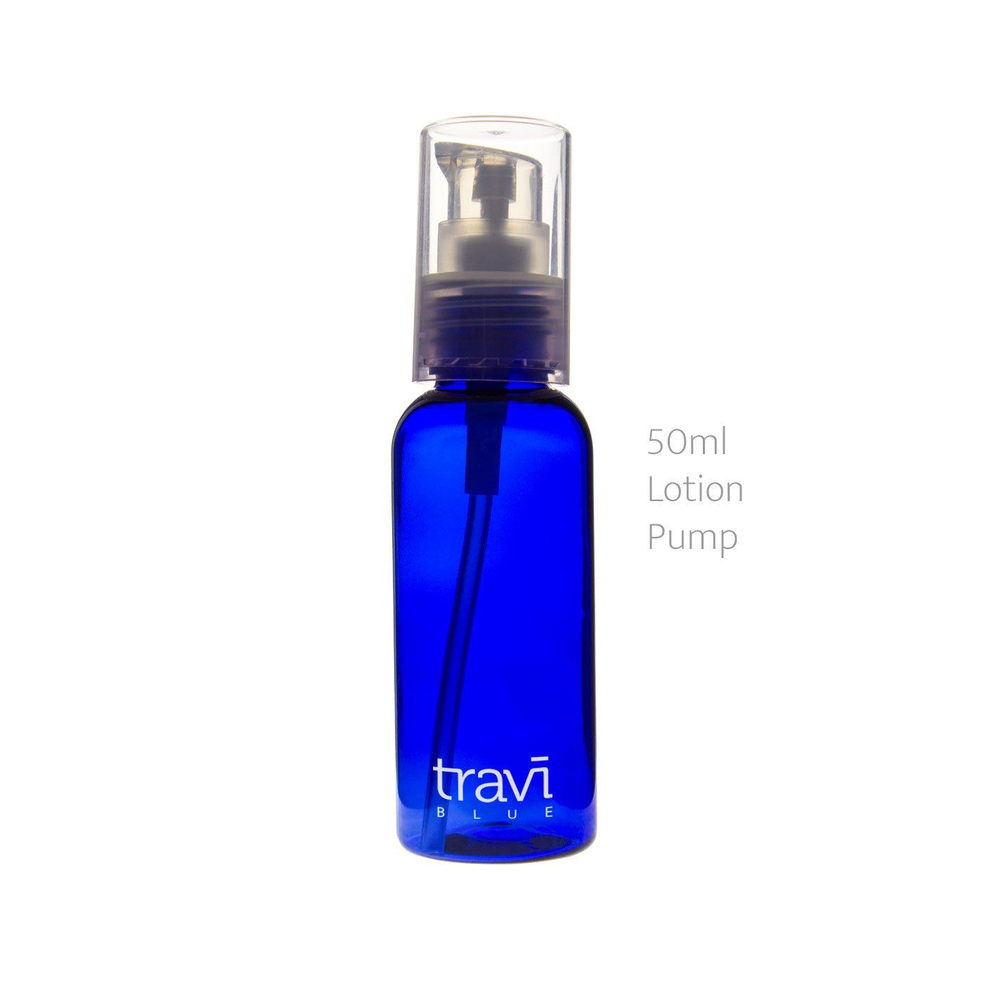 Ati Nomad aire tamaño de viaje botella de | ideal para equipaje de mano líquido | bolsa de seguridad aeroportuaria Transparente azul: Amazon.es: Equipaje