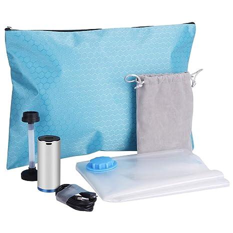Amazon.com: Bolsas de almacenamiento al vacío de viaje con ...