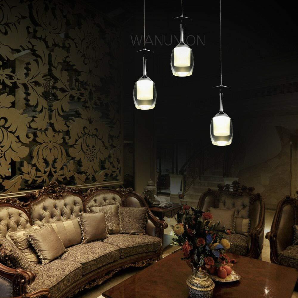 FidgetGear Modern LED Wine Glass Bar Ceiling Light Pendant Lamp Fixture Lighting Chandelier by FidgetGear (Image #2)