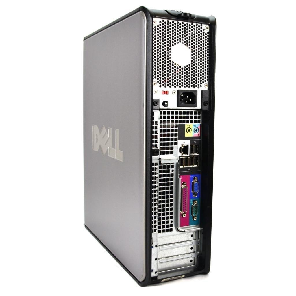 Dell Optiplex Intel C2D 2 8GHz Processor w/ Windows 10 Home Edition, 160  HARD DRIVE, New 4GB Memory, DVD-CD-RW - (Certified Reconditioned)