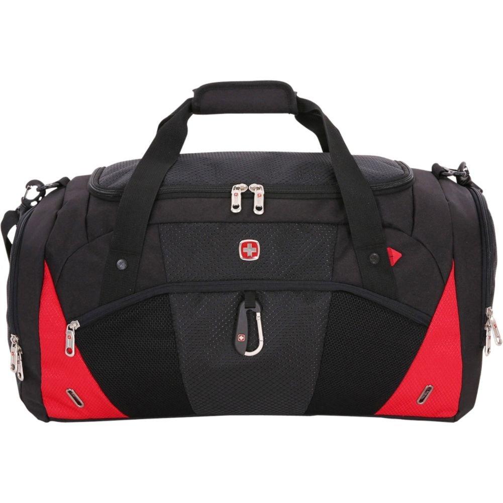 Swissgear Travel Gear 1900 22'' Overnight Duffel Bag - (Black/Red)