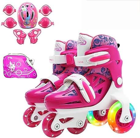 CYGJLYZ Roller Skates Adjustable Inline
