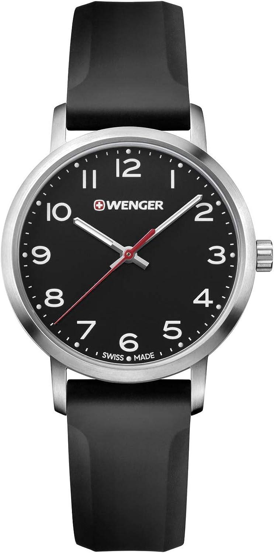 Wenger Avenue - Reloj de cuarzo (acero inoxidable)
