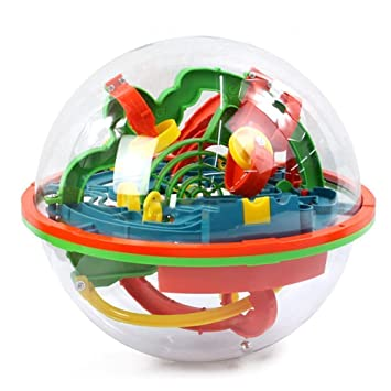 b64013d362f1a MAONO 子供おもちゃ 迷路 おもちゃ ボール 迷路遊び子供の知育 3D立体知育玩具 迷路