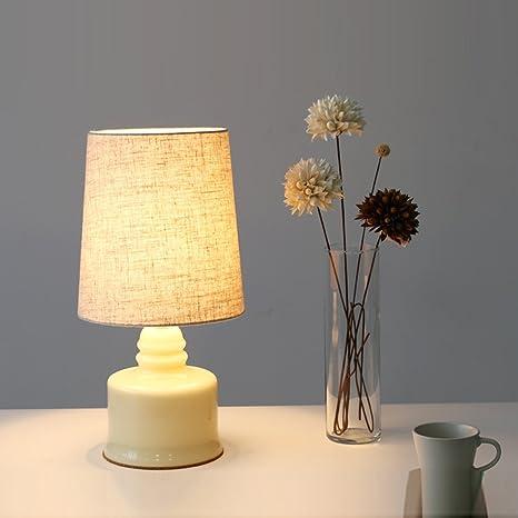 Amazon.com: Maso hogar, un romántico moderno Lámpara de mesa ...