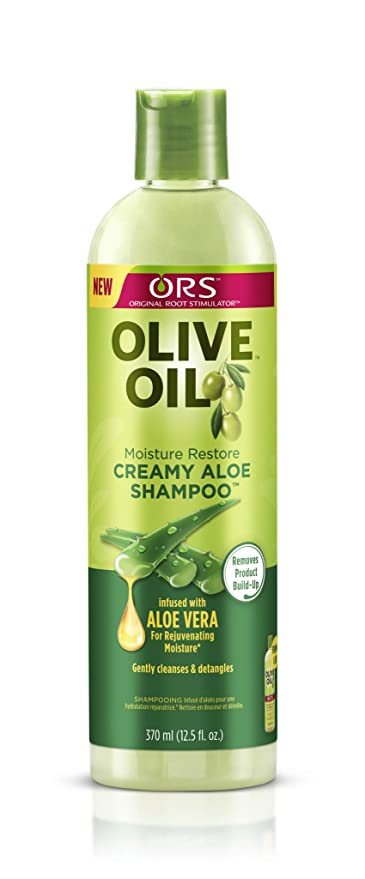 ORS Olive Oil Moisture Restore Creamy Aloe Shampoo