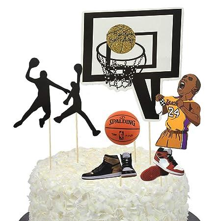 BBGparty - Decoración para tarta de baloncesto para ...