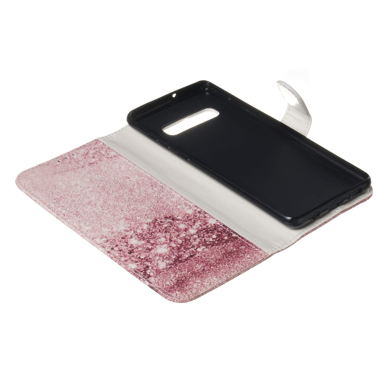 Hebilla Magn/ética Soporte Piel PU Funda Carbono Portatarjetas Miimall Funda Compatible con Samsung Galaxy Z Fold 2 con Tapa para Samsung Galaxy Z Fold2 Protectora de la C/ámara