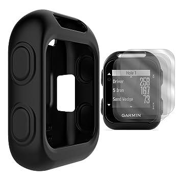 747a4d92446c5a TUSITA Custodia protettiva con schermo protettivo per Garmin Approach G10  palmare GPS Golf, in silicone per accessori (NERO): Amazon.it: Sport e  tempo ...