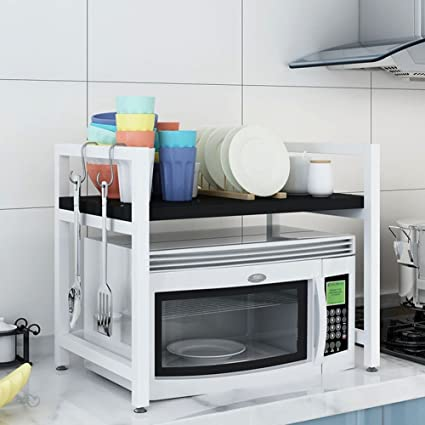 LPYMX Estante de Cocina, Horno de microondas, Estante de Almacenamiento de Cocina multifunción (