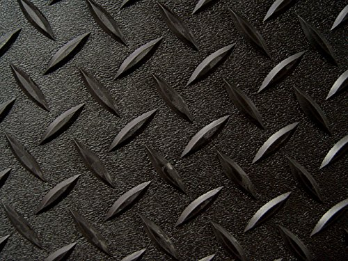 Auto Care Products 84200 Diamond Deck 2 Car Garage Kit with (2) 7.5' x 24' and (1) 5' x 24' Floor Mats, Black Textured by Auto Care (Image #3)