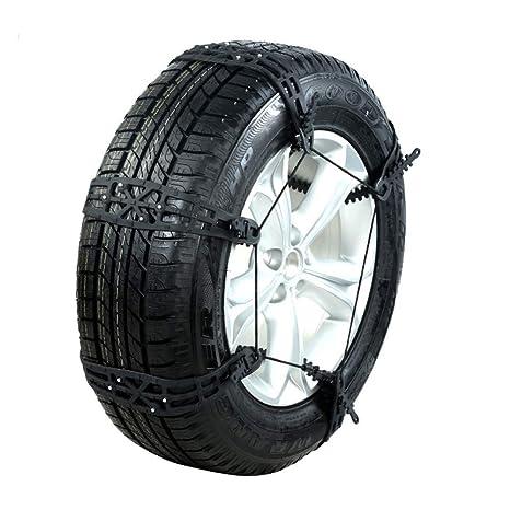 GSYDXL Cadenas de Nieve Rueda Neumático de Coche Antideslizante Cinturón de Montaje para la Nieve y
